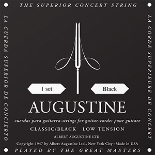 Augustine Black Classical guitar strings