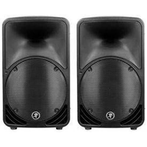 """PA Hire - 10"""" Mackie Active Speakers"""