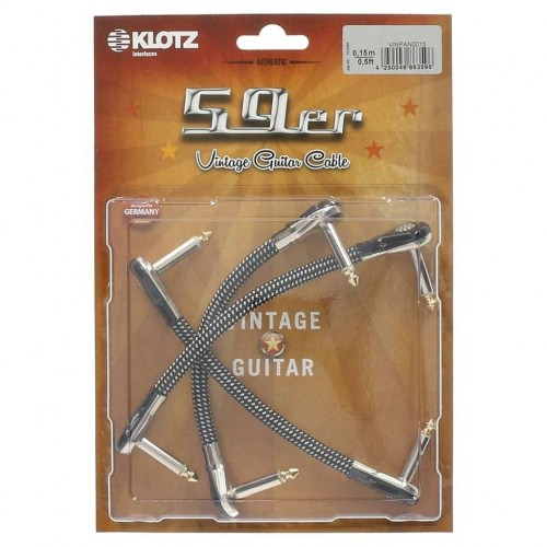 Klotz 59er Vintage Guitar Patch Cable
